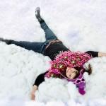 תמונות בשלג לבוק בת מצווה