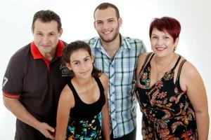 צילומי סטודיו למשפחה ובת מצווה