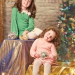 צילומי סטודיו באווירה של חג מולד