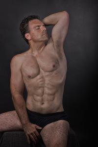 צילום גוף של גבר