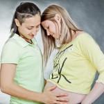 צילום הריון לזוג לסביות